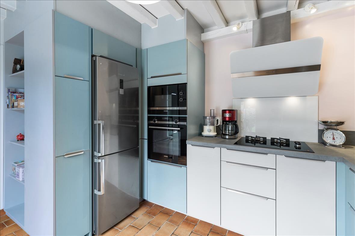 Open moderne keuken in L-vorm  3
