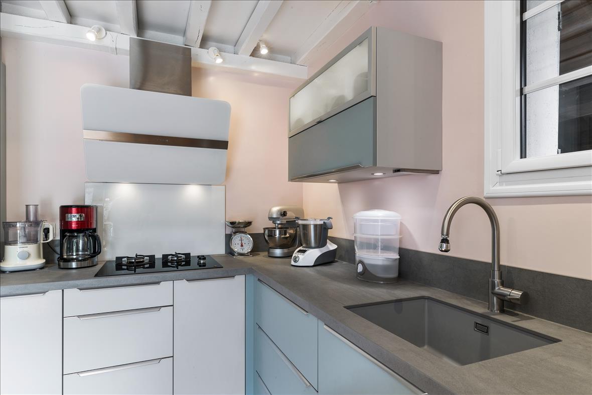Open moderne keuken in L-vorm  4