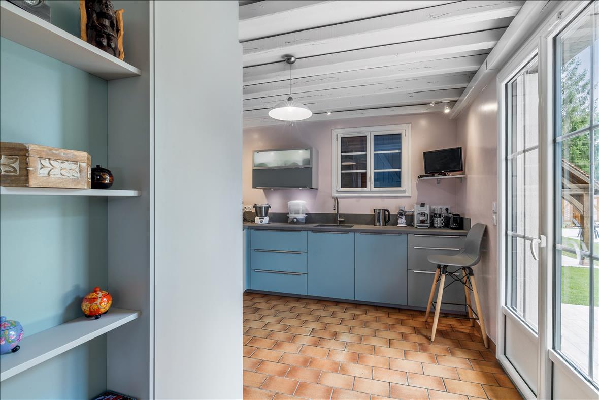Open moderne keuken in L-vorm  5