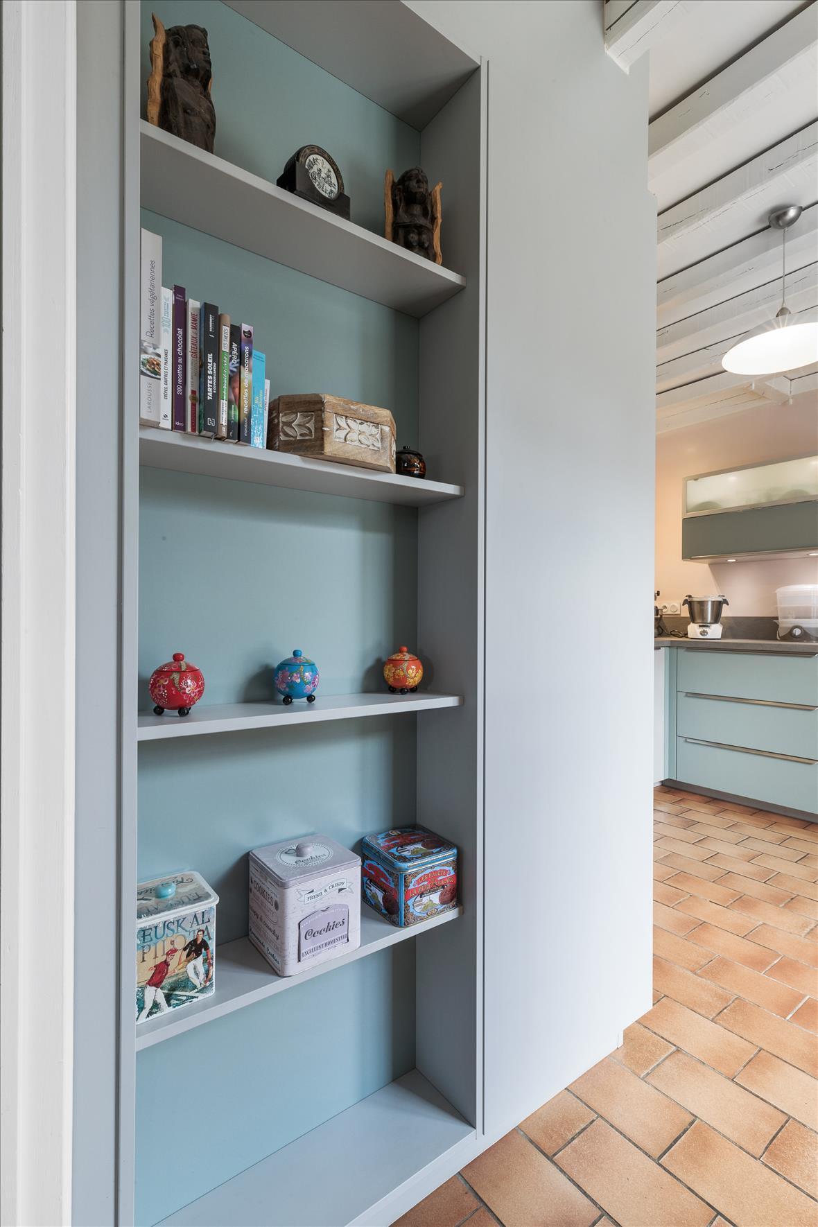 Open moderne keuken in L-vorm  8