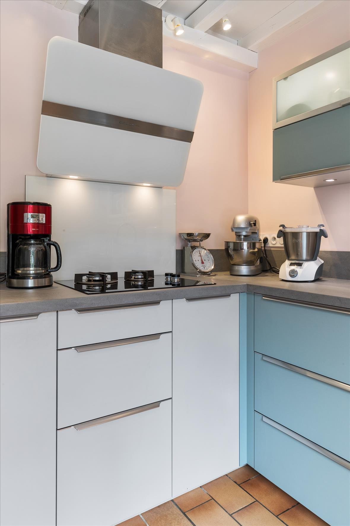 Open moderne keuken in L-vorm  9