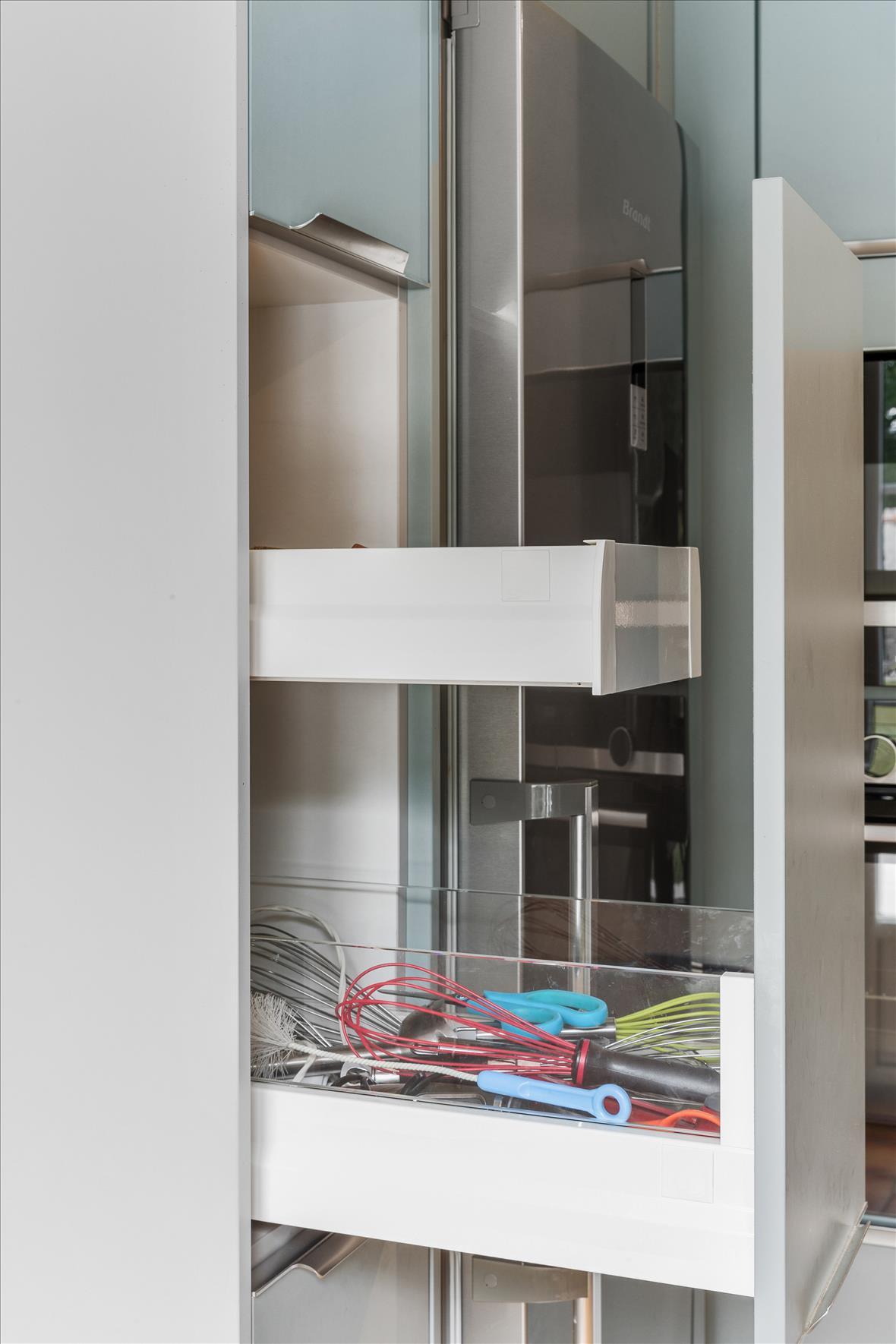 Open moderne keuken in L-vorm  6