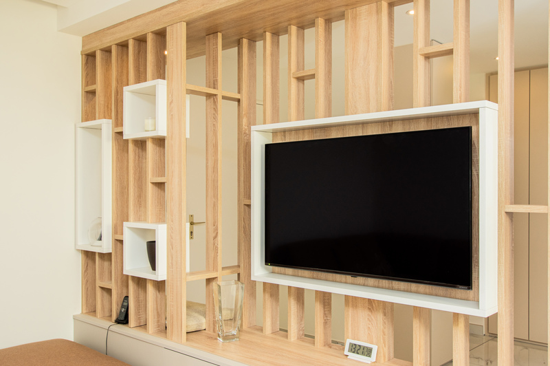 Houten ophang TV Meuble 1