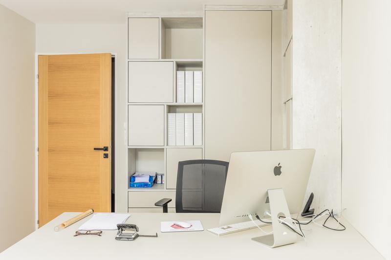 Ingerichte thuis bureau 1