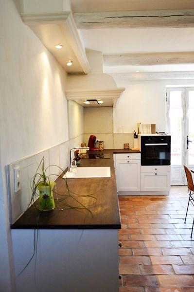 Gesloten cottage witte keuken in L-vorm 7