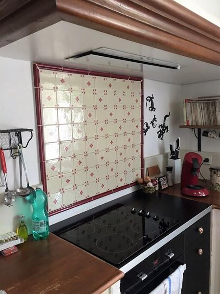 Gesloten cottage witte keuken in L-vorm 6