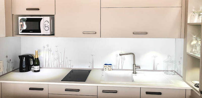 Half-open hedendaagse cachemire keuken door Isabelle SIERANSKI 1