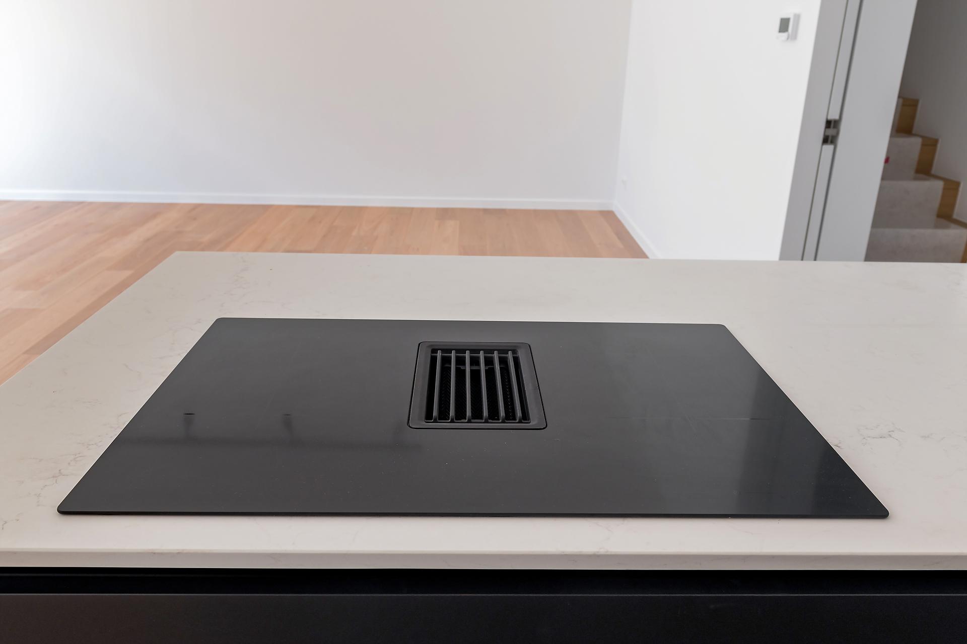 Cuisine moderne sans poignée noir mat | Raison Home Belgium - 5