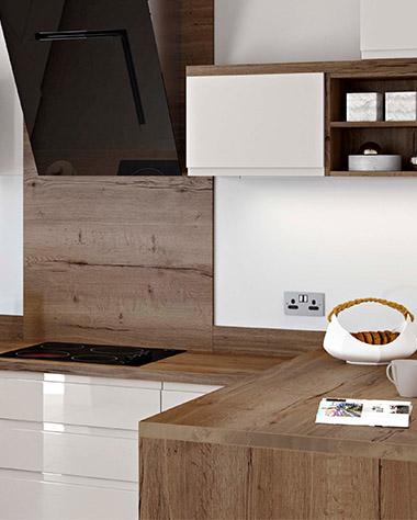 Wood laminate worktop