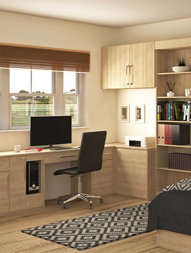 Home office-Study Wooden style